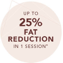 Up to 25% Fat Reduction in 1 Session