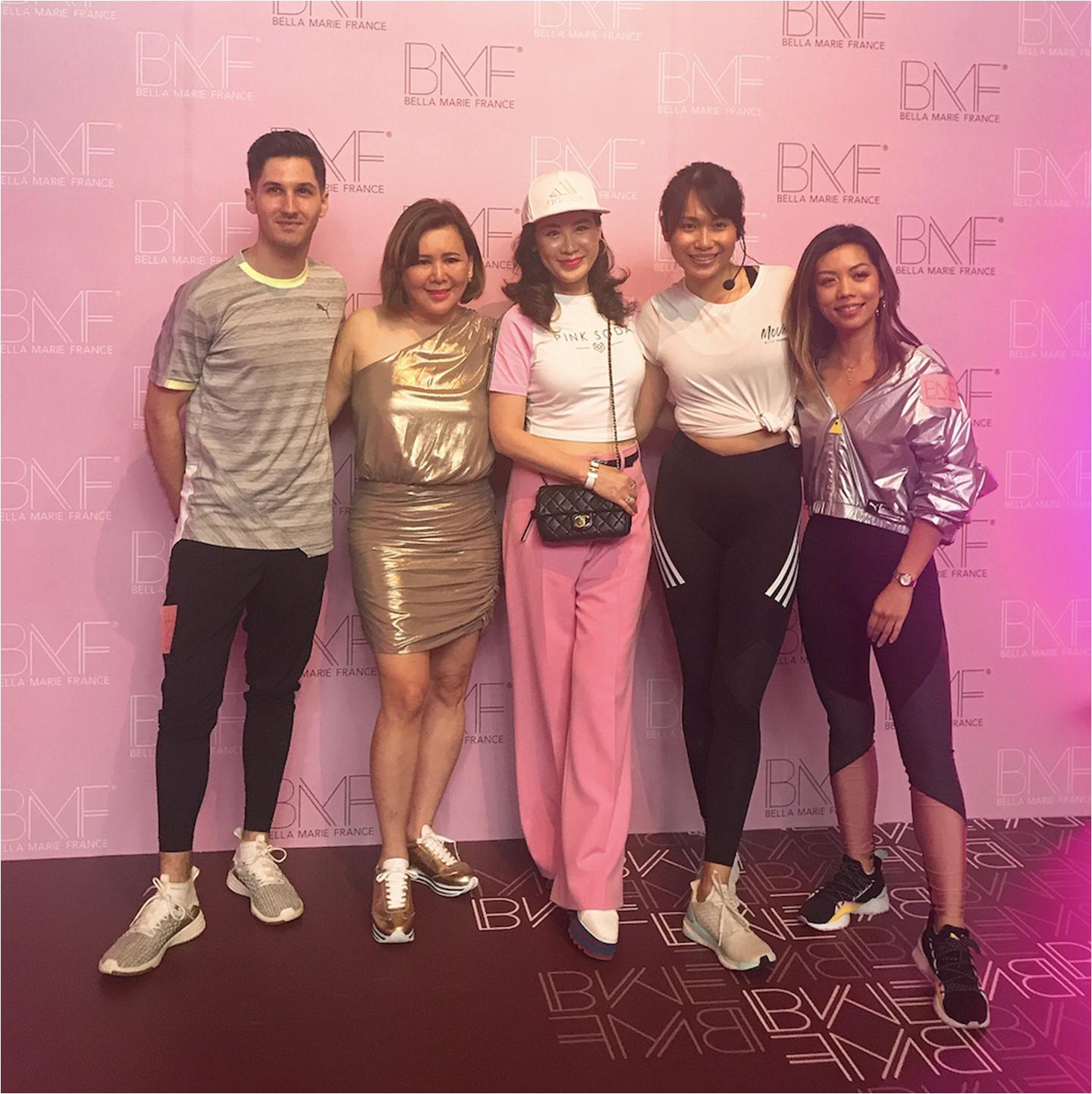 [Pamper.my] Scenes: BMF Bella Marie France Celebrates the Launch of its BMF Beauty Gym Flagship Store