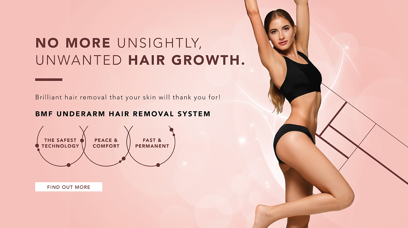 No More Unsightly, Unwanted Hair Regrowth